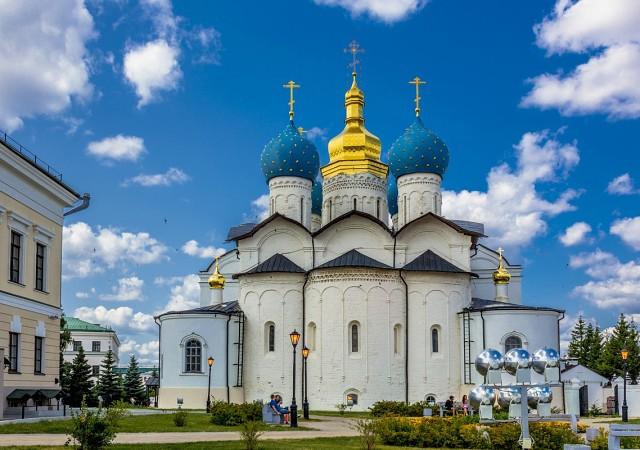 Храм Казанского кремля