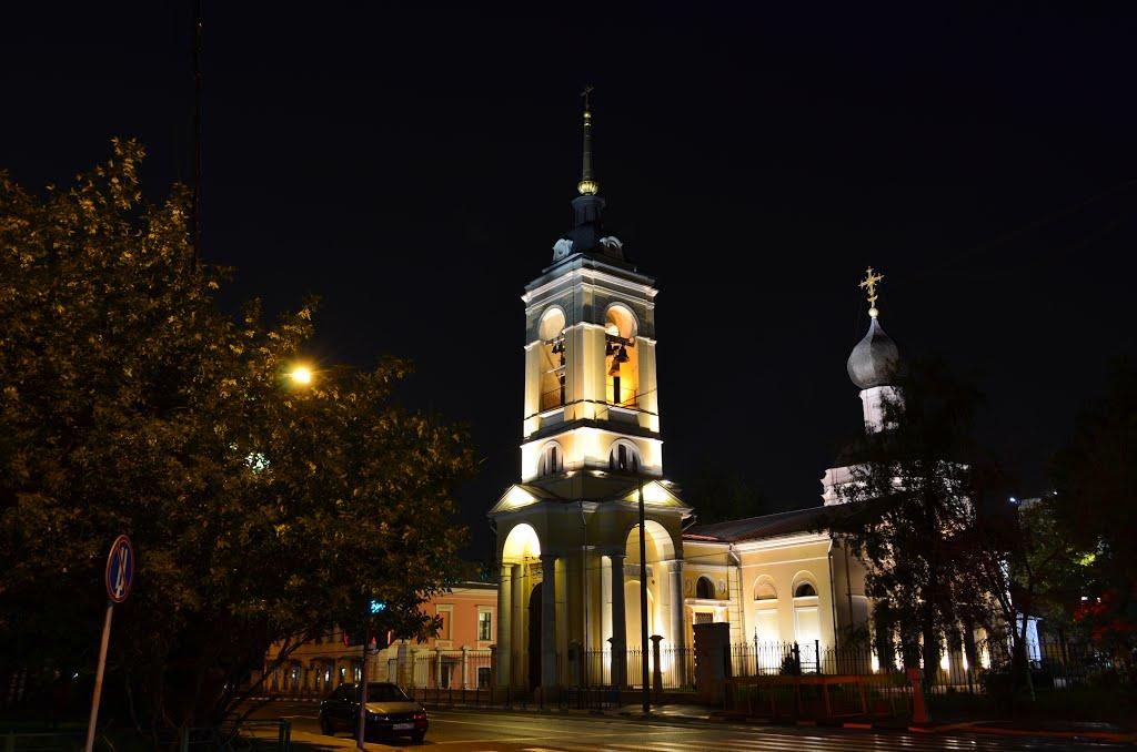 Церковь успения в казачьей слободе москва