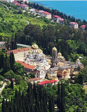 новый афон абхазия монастырь святыни
