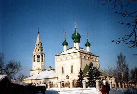 Ярославль (храмы), Храм Чуда в Хонех 1