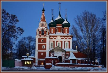 Ярославль (храмы), Храм Архангела Михаила Ярославль4