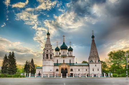 Ярославль (храмы), Храм Илии Пророка Ярославль