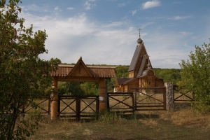 Самарская область (монастыри), Заволжский монастырь в честь Честного и Животворящего Креста Господня