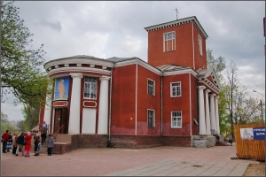 Собор вмц. Екатерины и Александро-Невское общество трезвости (Луга)