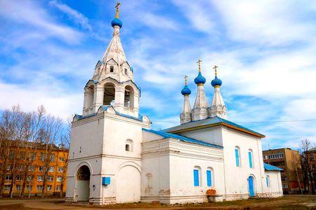 Ярославль (храмы), Храм Владимирской иконы Божией Матери на Божедомке