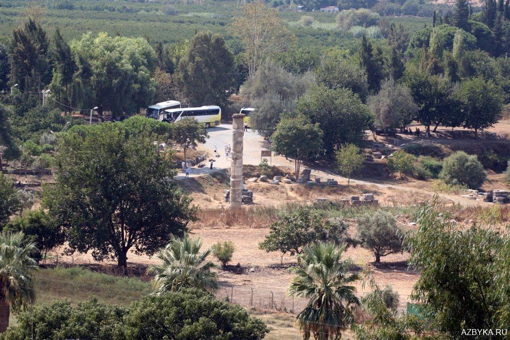 Колонна храма Артемиды