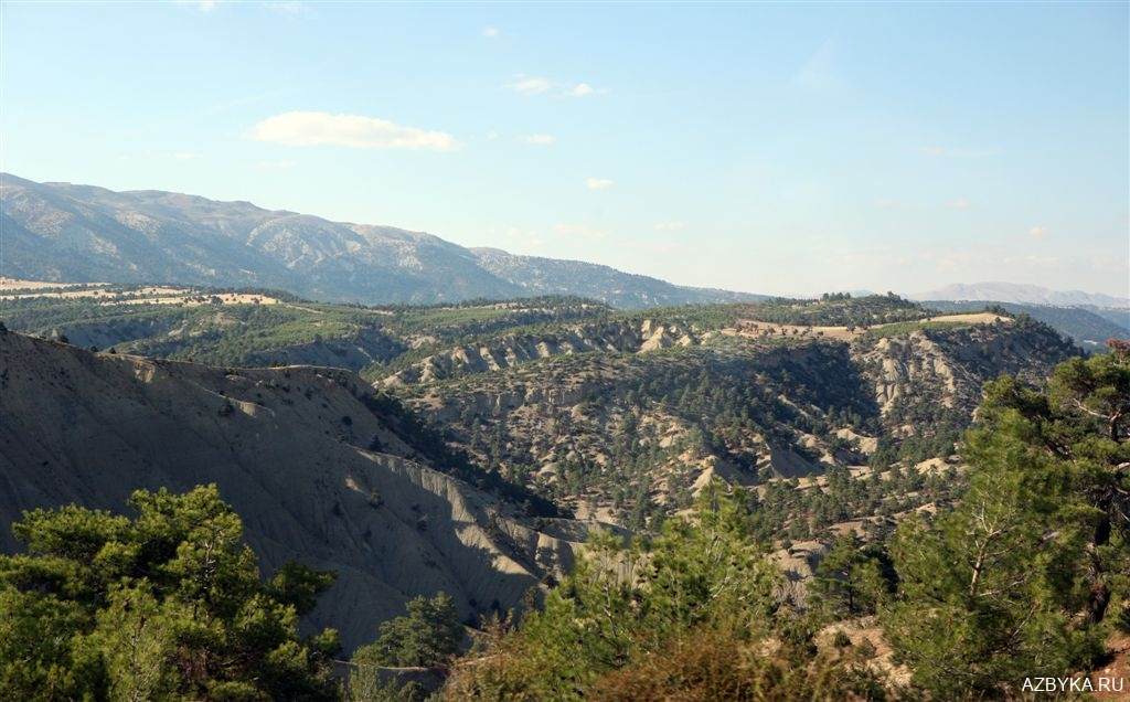 Турецкие горы