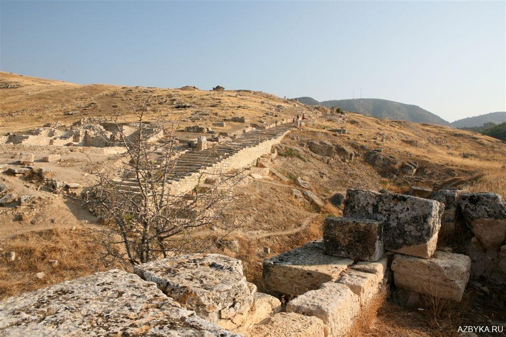 Дорога к Храму Апостола Христова Филиппа
