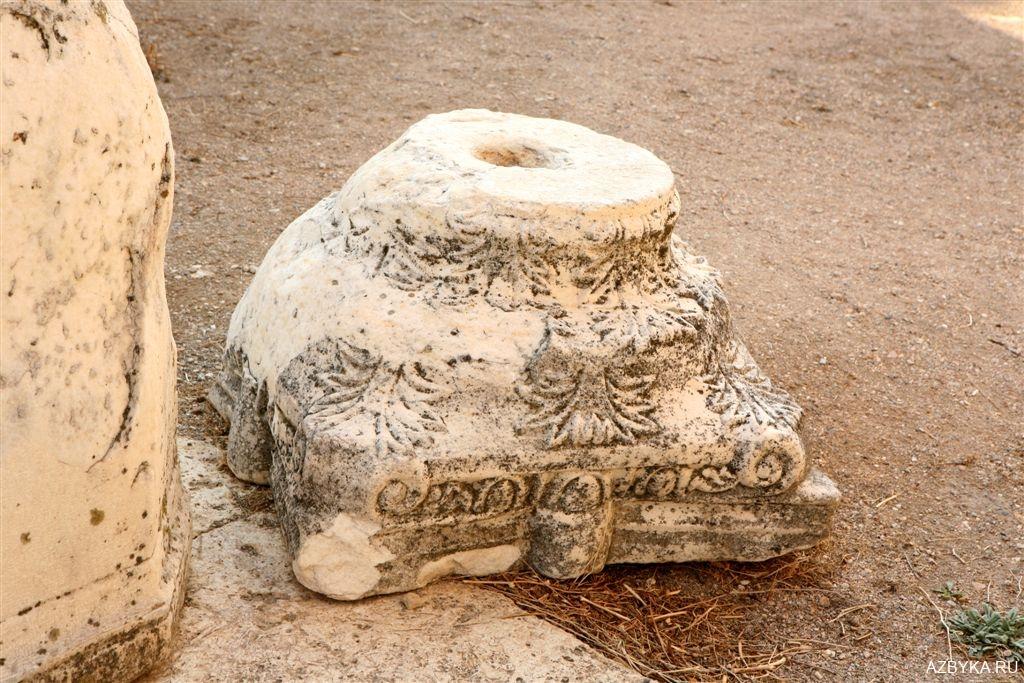Место древнего алтаря