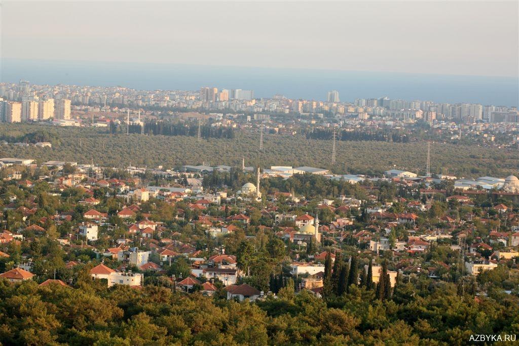 Холм у города Анталия