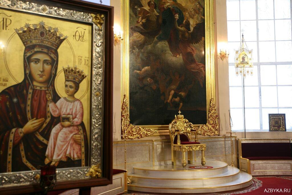 Горнее место Казанского кафедрального собора