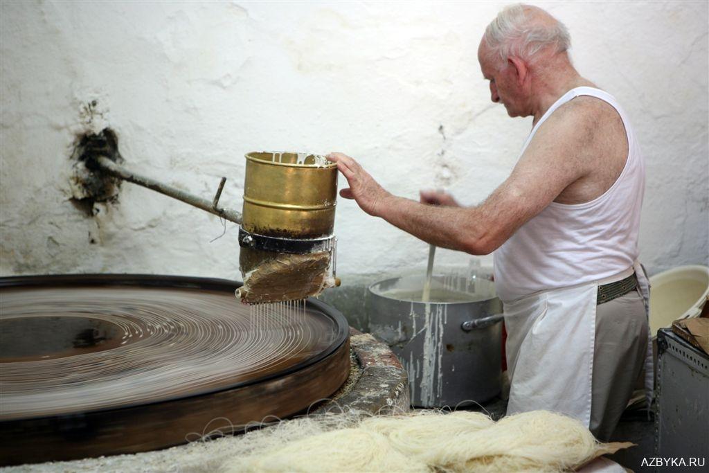 Приготовление пахлавы