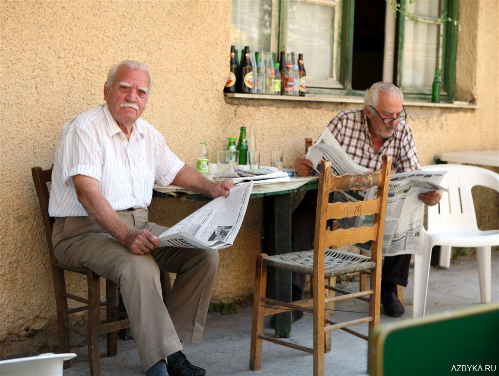 Деревушка о. Крит
