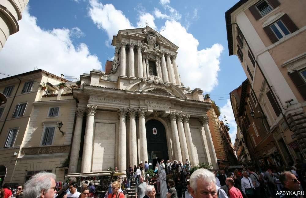 Церковь во имя святых мученика Викентия диакона и преподобномученика Анастасия Персянина