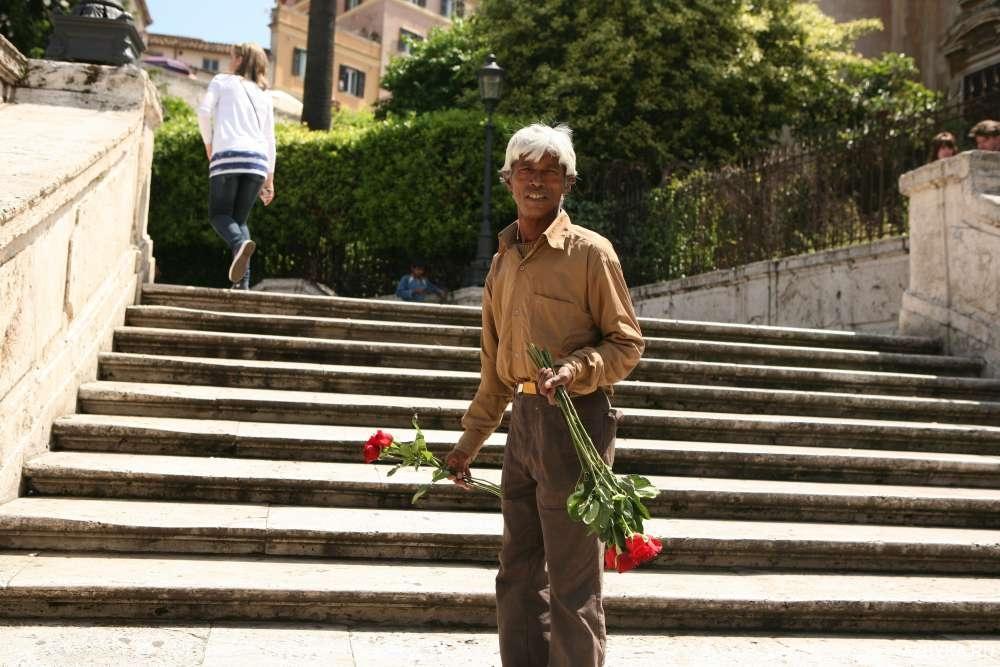 Продавцы цветов
