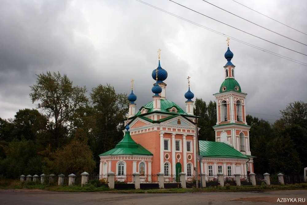 Церковь Царевича Димитрия «на поле».