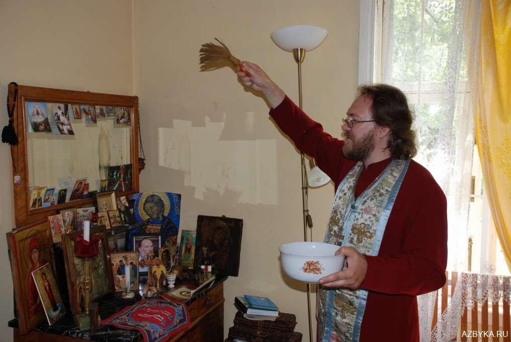 Молитвы на освящение жилища