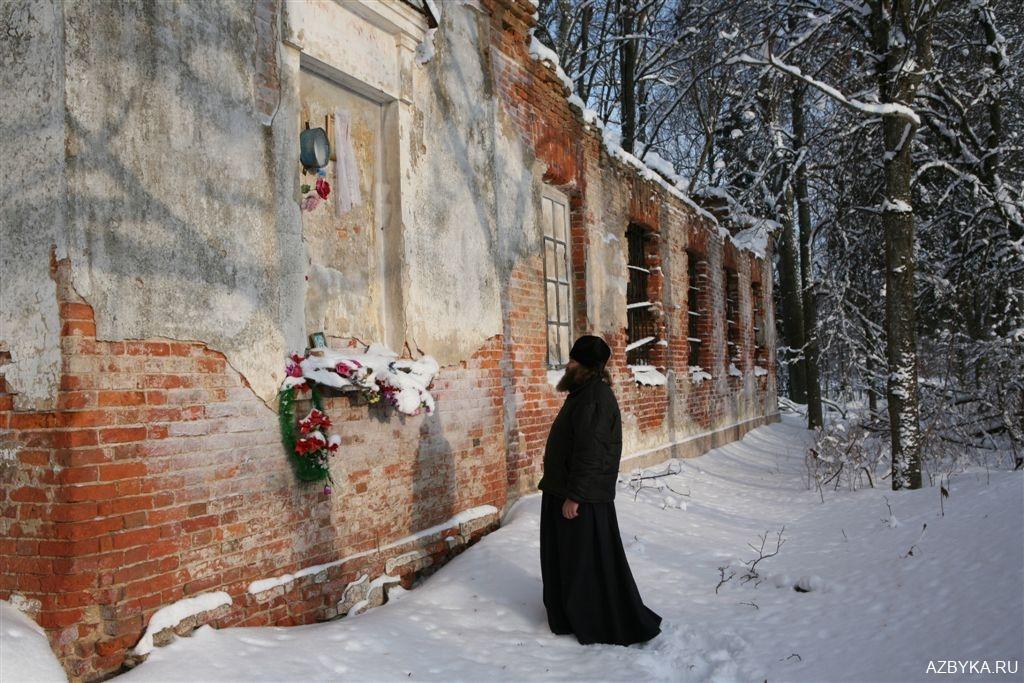 Село Замостье Тосненского района. Покровская церковь