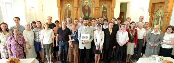 Встреча выпускников и преподавателей ПИК 2011 года