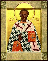 Слово о Страстях Господних, произнесенное в воскресенье  – святитель Лев Великий