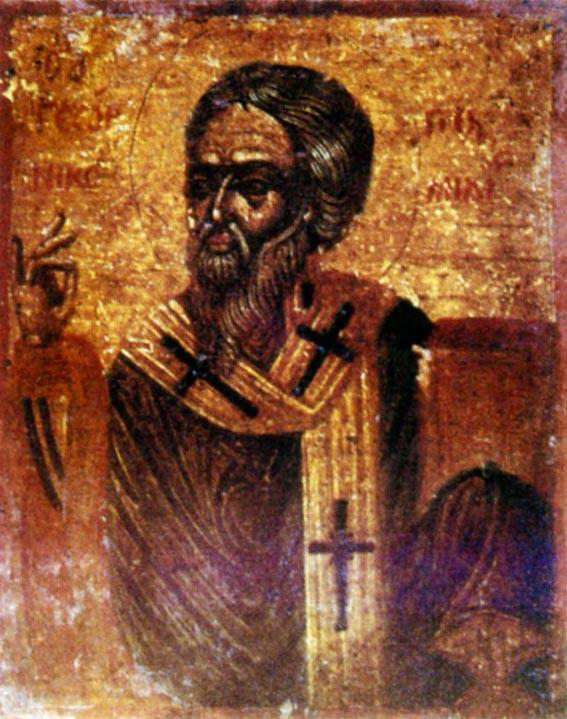 Слово первое на Зачатие Пресвятой Богородицы – святитель Георгий Никомидийский
