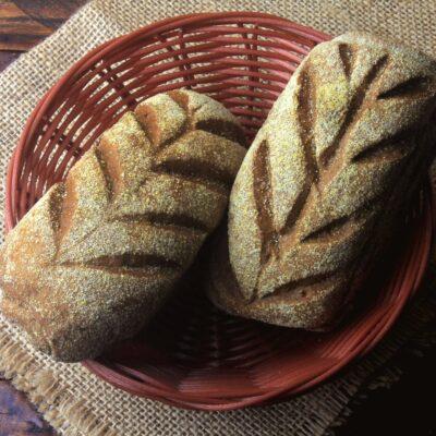 Полезный хлеб с крапивой