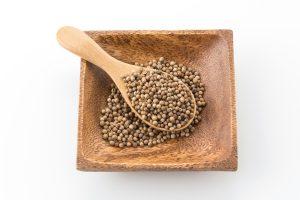 coriander seeds - Жареный корень лопуха