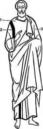 Мужская одежда античного периода