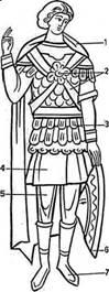 Одежда и снаряжение воина