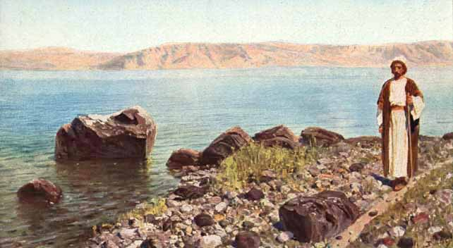 У моря Галилейского