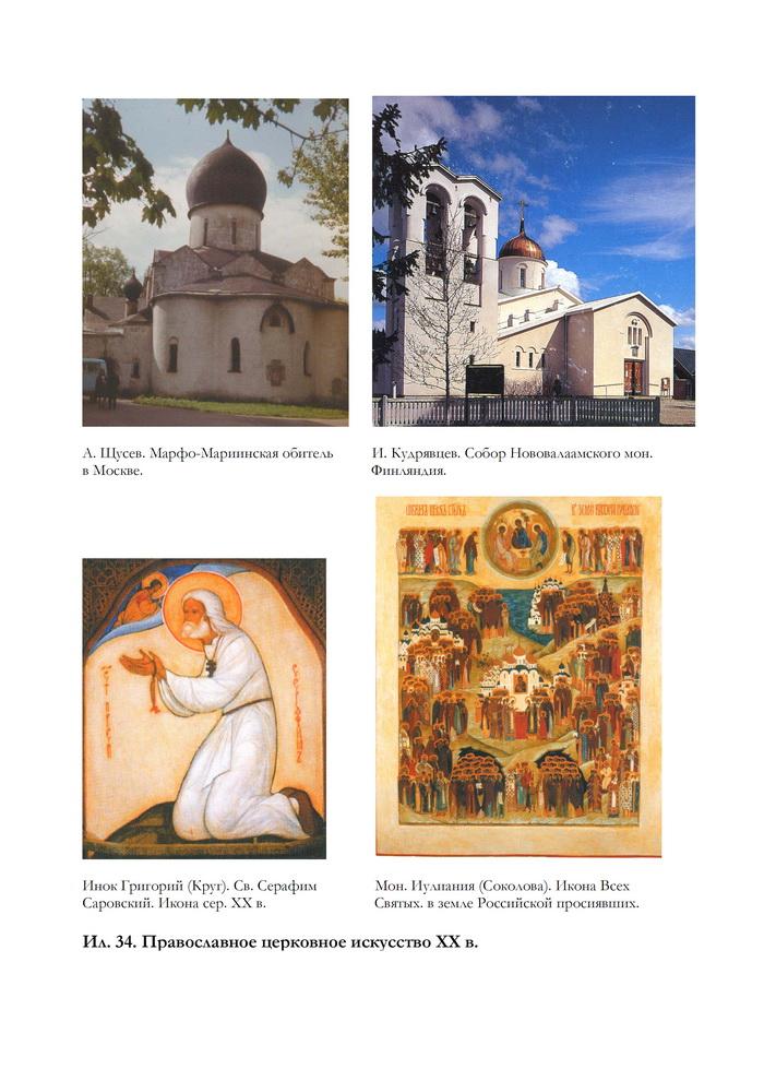 Церковное искусство России