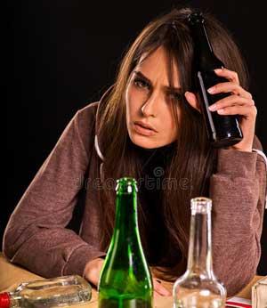 Как распознать женский алкоголизм?