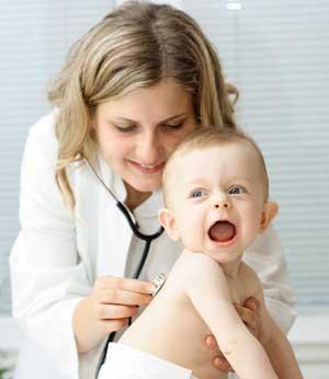Пневмония у детей. Симптомы, диагностика и лечение