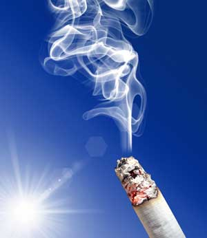 Курение приводит к физическим изменениям вмозге