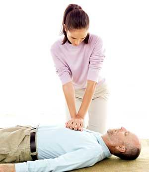 Первая медицинская помощь в картинках
