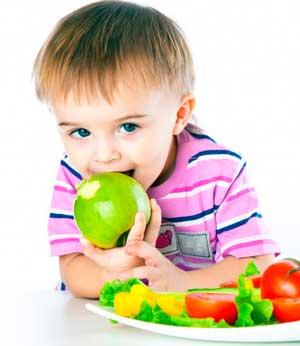 О питании детей дошкольного возраста