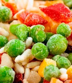 Как замораживать овощи назиму?