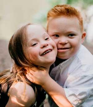 Солнечные дети с синдромом Дауна. Лариса Зимина