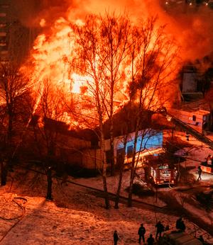 Памятка действий при пожаре