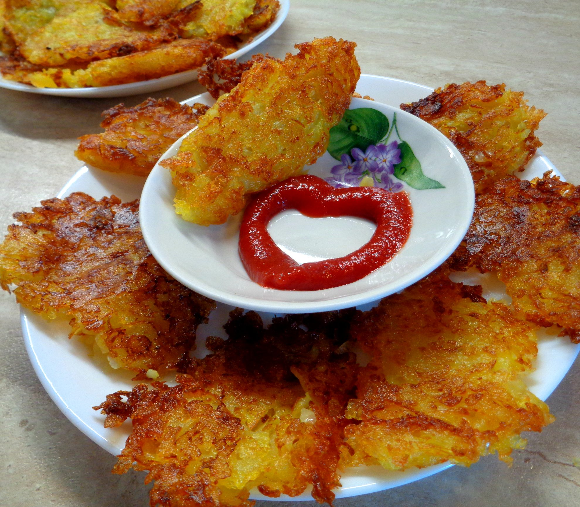 Картофельные оладьи без муки, или домашний хэшбраун