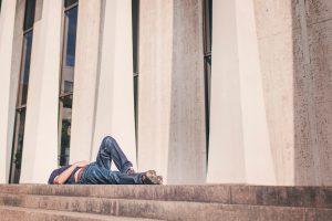 canva person lying on floor 300x200 - 7 факторов, снижающих иммунитет