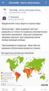screenshot 2020 03 12 23 10 55 294 com.vkontakte.android - Движение прочойс: борьба с жизнью и правами женщин