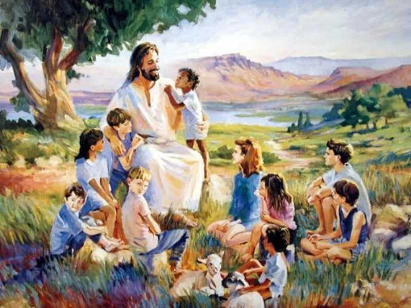 Иисус Христос и дети — Дневник — Православные знакомства «Азбука верности»