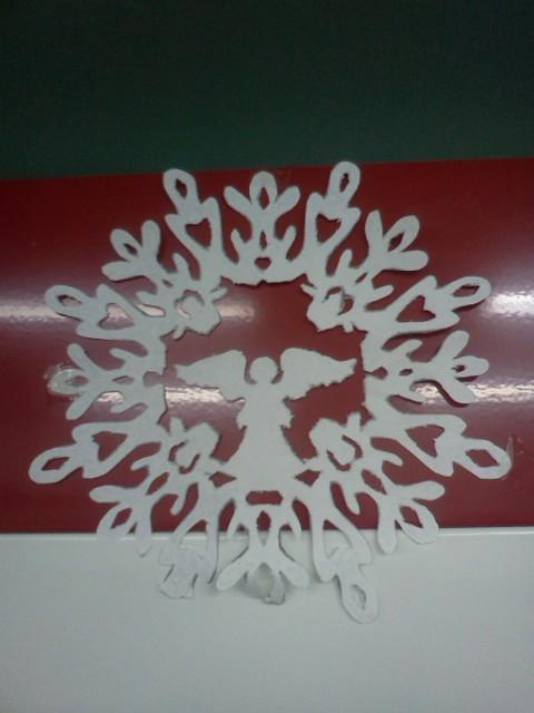 Снежинки к рождеству своими руками
